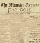 Title page from old Munster Express edition