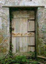 Old farm door.