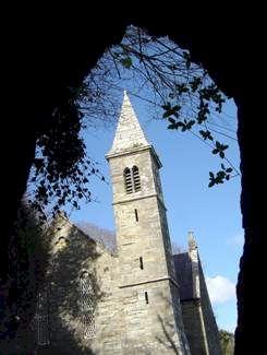 St Brigid's Christ Church, Glandore, County Cork, Ireland.