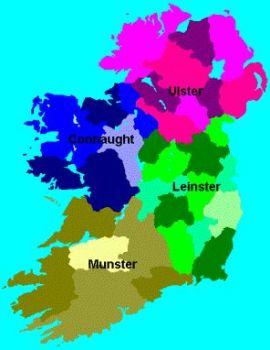 Provinces and counties of Ireland