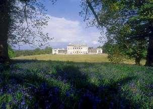 View of Castle Coole, Enniskillen, Northern Ireland