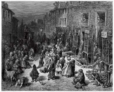 Dudley Street London 1870.