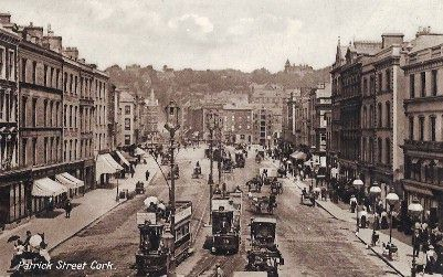 Patrick Street, Cork, early 20th century.