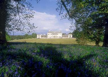View of Castle Coole, Enniskillen, Northern Ireland