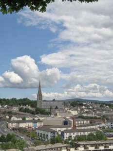 View from Walls of Derry.