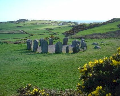 Drombeg Stone Circle, Co Cork, Ireland.