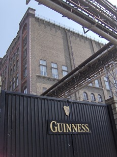 Gates of Guinness in Dublin.