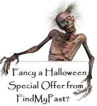 Spooky Halloween discount from FindMyPast