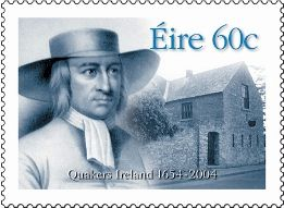 Postage Stamp depicting Irish Quakers.