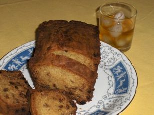 Yummy, yummy, Irish Whiskey Cake.