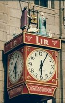The Lir Clock, O'Connell Street, Dublin.