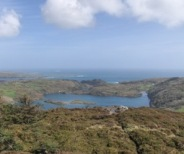 View over Loch Hyne, co Cork