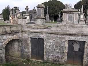 Glasnevin Cemetery in Dublin.