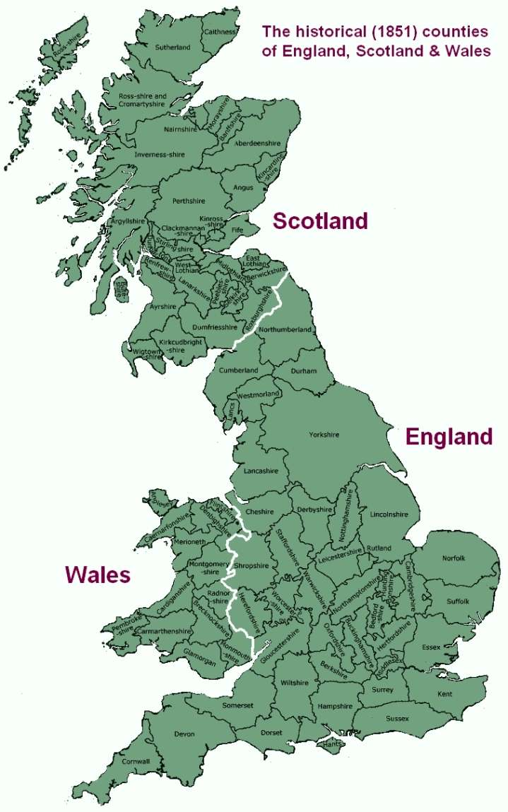 Map Of England Circa 900.Irish Immigration To England And Where To Find Genealogy Resources