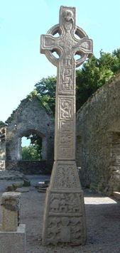 Moone High Cross, co Kildare, Ireland