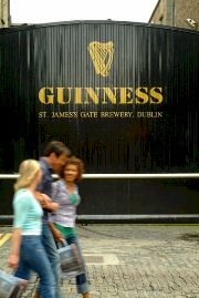 The Guinness Storehouse entrance