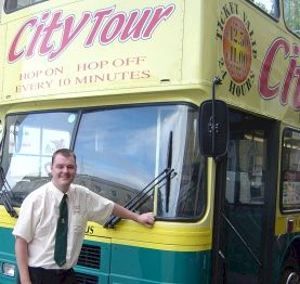 Dublin Bus Tour driver
