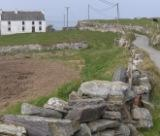 Dry stone walls on Cape Clear