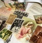 Random selection of family history memorabilia and documents.