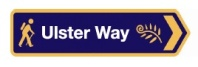 Ulster Way road sign