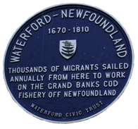 Plaque in Waterford