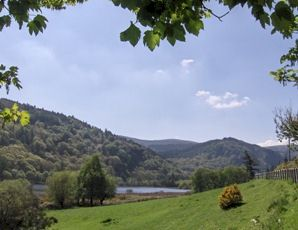 View of Lower Lough, Wicklow.