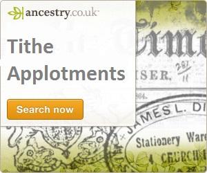 Irish tithe applotments - Ancestry Ad