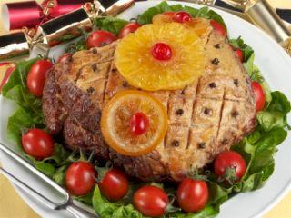 Festive Baked Ham.