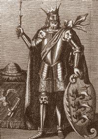 Brian Boru, first high king of Ireland.