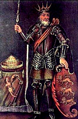 Brian Boru, King of Munster.