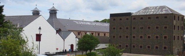 Bushmills Distillery, Northern Ireland.