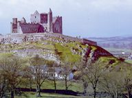 The Rock of Cashel dominates the Tipperary landscape