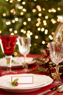 Christmas Table. copyright.