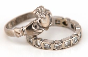 The Traditional Irish Ring Is Widely Known As Claddagh Since It Thought To Have Originated In Galway Fishing Village Of This Name