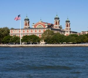 Ellis Island, New York.