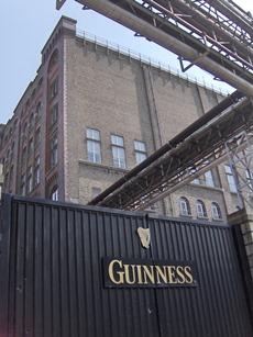 Gates of Guinness in Dublin.