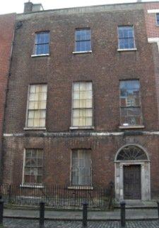 Brick tenements in Dublin