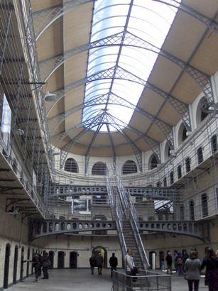 Inside Kilmainham Gaol, Dublin