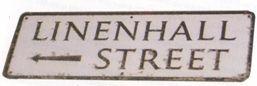 Linen Hall Street sign, Lisburn, Northern ireland