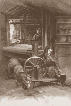 Irish linen weaver and flax spinner