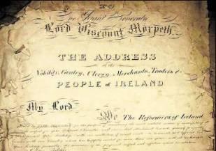 Morpeth Testimonial Scroll, 1841