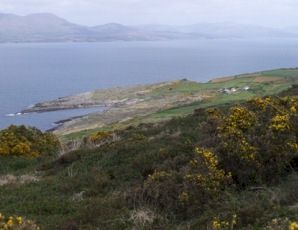 View to north of Kilrochane.