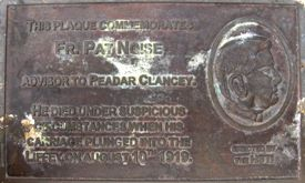Father Pat Noise hoax memorial