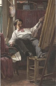 Self Portrait by Thomas Hovenden.