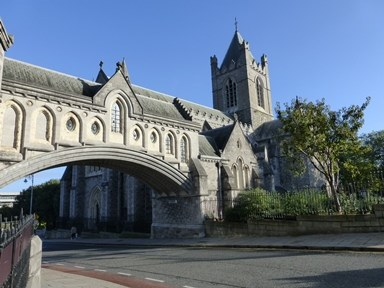 Christchurch Cathedral, Dublin, Ireland.
