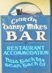 Irish bar sign