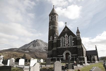 Dunlewey Church, Donegal, Ireland