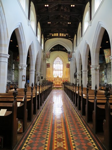 Interior of St Columb's Catherdal, Derry, Northern Ireland.