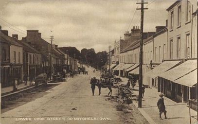 1900s postcard of Mitchelstown, Co Cork, Ireland.
