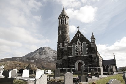 Dunlewey Church, Donegal, Ireland